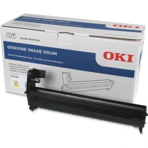 OKI 30K Image Drum - Yellow for C831 series