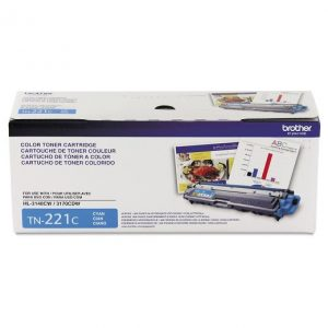 Brother TN-221C Cyan Toner Cartridge