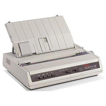 Oki Data MICROLINE 186Plus (Black) - Serial, USB 120V Printer