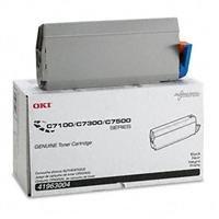 OKI C7100/C7300/C7500 Black Toner Type C4 Cartridge