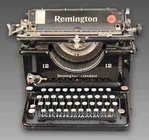 Remington 1925 Vintage Typewriter - Refurbished