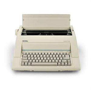 Royal Scriptor Electronics Typewriter