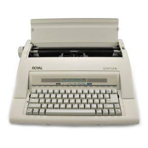 ROYAL® Scriptor II Electronic Typewriter