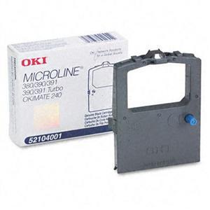 OKI Black Ribbon for ML380/390+/391+/390T/391T+/390T/n+391T/n