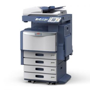 OKI CX4545x Digital Color MFP w/ Large Capacity Feeder