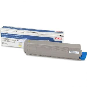 Oki 10K Toner - Yellow for C831 series
