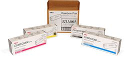 OKI Rainbow Pack of Toner for C5000 Series Printers