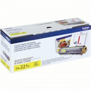 Brother TN-221Y Yellow Toner Cartridge